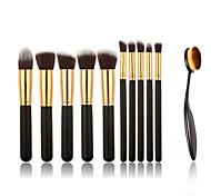 cheap -11 Foundation Brush Powder Brush Concealer Brush Eyeshadow Brush Blush Brush Makeup Brush Set Nylon Portable Professional Full Coverage