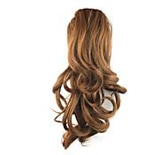 Недорогие -Кулиска Конские хвостики Эластичный Искусственные волосы Волосы Наращивание волос Кудрявый