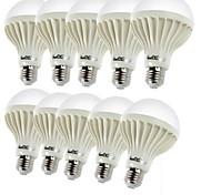economico -YouOKLight 3W 150-200 lm E26/E27 Lampadine globo LED C35 12 leds SMD 5630 Decorativo Bianco caldo CA 220-240 V