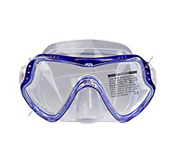 cheap -Snorkel Set Diving Masks Swim Mask Goggle Dry Top Diving / Snorkeling silicone-SBART