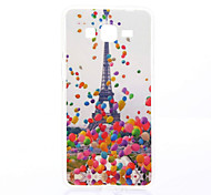 Eiffel Tower Pattern TPU Material Phone Case for Samsung Galaxy Grand Prime G530/ Core Prime G360/Grand Neo 9060
