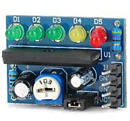 Недорогие -Модуль индикатора уровня звука Индикатор заряда батареи Индикатор уровня мощности ka2284