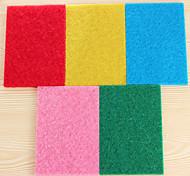 (цвет случайный) 10 шт / комплект цвет высокоэффективные чистящие ткань для чистки кухонной тряпки сильной обеззараживанию