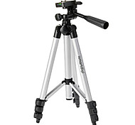 cheap -Ismartdigi i-3110 4-Section Camera Tripod (Silver+Black) for All D.Camera V.Camera Nikon Canon Sony Olympus...