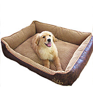 Bed Pet Blankets Waterproof Beige Coffee
