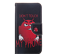 Leather Flip Stent Wallet Phone Protective Holster Coloured Drawing Or Pattern Design Phone Case For Sony Xperia Z5
