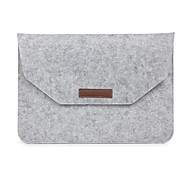 abordables -Mangas para Caso de sobres Color sólido Textil MacBook Pro 15 Pulgadas MacBook Air 13 Pulgadas MacBook Pro 13 Pulgadas MacBook Air 11
