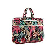 "Handbag for Macbook Pro 15.4"" Flower Textile Material Forest Series Waterproof Shockproof Notebook Bag Hand Bag"