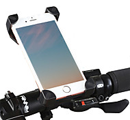 Bike Phone Mount Bicycle Holder, Universal Cradle Clamp for iPhone Samsung iOS Android Smartphone GPS Devices,360 Degrees Rotatable