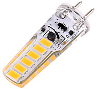 ywxlight® 4w g6.35 luces bi-pin led 12smd 5730 300-400 lm blanco cálido blanco frío decorativo ac / dc 12v ac / dc 24v 1pc