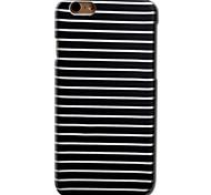 Недорогие -Кейс для Назначение Apple iPhone 8 iPhone 8 Plus iPhone 6 iPhone 6 Plus С узором Кейс на заднюю панель Полосы / волосы Твердый ПК для