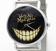 Women's Fashion Watch Casual Watch Quartz Stainless Steel Band Word Watch Silver Gold