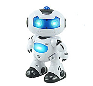 cheap -RC Robot Kids' Electronics Robot Infrared ABS Singing Dancing Walking Remote Controlled Singing Dancing Music & Light