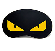 Недорогие -Маска для сна в путешествии Отдых в дороге для Отдых в дороге Черный/Желтый