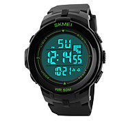 cheap -Outdoor Sports Diving Swimming Waterproof Multi-function LED Electronic Strip Men's Watches