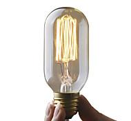 cheap -UMEI™ 1pc 40W E27 E26/E27 T45 2300 K Incandescent Vintage Edison Light Bulb AC 220-240V V