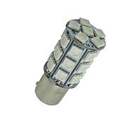 abordables -10x BAU15s 7507 PY21W 5050 27-SMD señal de freno de color ámbar / backup / cola / a su vez llevó las luces