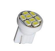 Недорогие -10x чистый белый T10 клин 8smd панель приборная панель спидометр свет инструмент