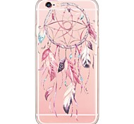 Dream Catcher Pattern TPU Ultra-thin Translucent Soft Back Cover for Apple iPhone 6s Plus/6 Plus/ 6s/6/ SE/5s/5