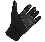 cheap -Bike Gloves / Cycling Gloves Ski Gloves Men's Women's Keep Warm Waterproof Windproof Canvas Fleece Ski / Snowboard