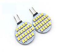abordables -2W G4 Luces LED de Doble Pin T 24 leds SMD 3528 Decorativa Blanco Cálido Blanco Fresco 200lm 3000/6000K DC 12V