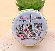 The Eiffel Tower Tin Change Purse(1 PCS Random Color)