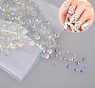 1000 Manucure Dé oration strass Perles Maquillage cosmétique Nail Art Design