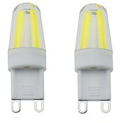 G9 LED Bi-pin Lights T 4 COB 300-350 lm Warm White Cold White Natural White 3000-6000 K Waterproof Dimmable Decorative AC 220-240 AC