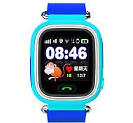 Недорогие -Детские часы GPS Защита от влаги Видео Фотоаппарат Аудио Хендс-фри звонки Контроль сообщений Контроль камеры Датчик для отслеживания