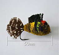 "abordables -500 pcs Cebos Señuelos duros fantasma g/Onza,50 mm/2-1/8"" pulgada,Pluma Pesca de baitcasting"