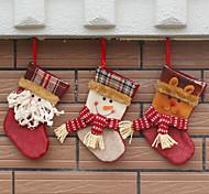 Недорогие -3cover) (разные стили) новомодная дом украшения Новогодние украшения Рождественский чулок