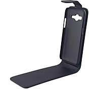 For Samsung Galaxy Case Flip Case Full Body Case Solid Color PU Leather SamsungS Advance / Core Prime / Core 2 / Alpha / Ace 4 / Ace 3 /
