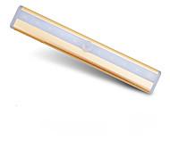 Недорогие -1шт водить датчиком комнатной температуры лампы ванной свет оригинальности шкафа ночники свет ночи