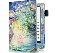 cheap -Case For Amazon Full Body Cases Tablet Cases Oil Painting Hard PU Leather for