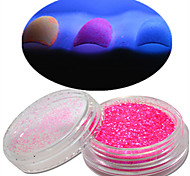 cheap -1 Nail Jewelry Glitter & Poudre Powder Other Decorations Glitters Classic Glitter & Sparkle Glow-in-the-dark Light Wedding High Quality