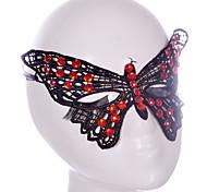 Недорогие -Lace Mask 1шт Праздничные украшения партии Маски Cool / Мода Один размер Черный Кружево