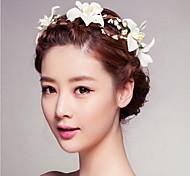 приморский красивая роза цветок венки оголовье для леди свадьба партии ювелирные изделия праздник волос