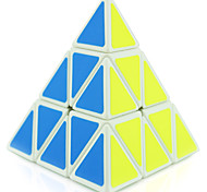 cheap -Rubik's Cube Shengshou Pyramid 3*3*3 Smooth Speed Cube Magic Cube Puzzle Cube Professional Level Speed Competition Triangle New Year
