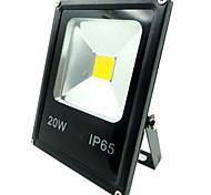 Недорогие -1pc 20w привело прожектор ip65 декоративный наружное освещение теплый / холодный белый ac85-265v