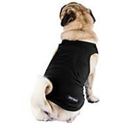 Недорогие -Животные Собака Жилет Одежда для собак Дышащий Стиль На каждый день нормкор Однотонный Серый Лиловый Красный Розовый Светло-синий Костюм