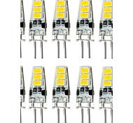 1.5W G4 LED Doppel-Pin Leuchten T 6 Leds SMD 5733 Wasserfest Dekorativ Warmes Weiß Kühles Weiß 150-200lm 3000/6000K DC 12V