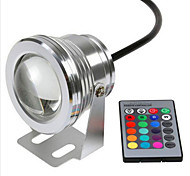 RGB 10W Underwater Lamp Waterproof Safety Voltage DC12V Underwater Colorful Lights V1PC