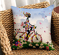 cheap -1PC Household Articles Back Cushion Novelty Originality Fashionable Graphic Prints Single Pillow Case