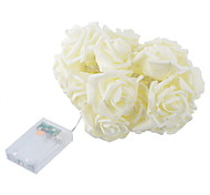 1PC  23*16cm Fashion Holiday Lighting  Rose Flower String Lights Fairy Wedding Party Christmas Decoration