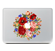 cheap -1 pc Skin Sticker for Scratch Proof Flower Pattern PVC MacBook Pro 15'' with Retina MacBook Pro 15'' MacBook Pro 13'' with Retina MacBook