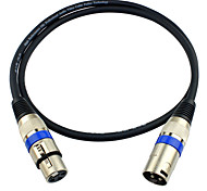 cheap -JSJ® 3-Pin XLR Male to Female Balanced Microphone Audio Cable (OD6.0mm 3m/10FT)