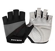 Недорогие -Спортивные перчатки Перчатки для велосипедистов Влагопроницаемость Пригодно для носки Ударопрочность Антибактериальный Без пальцев Спорт