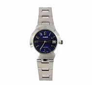 Недорогие -Жен. Нарядные часы Модные часы Кварцевый / Нержавеющая сталь Группа Повседневная Серебристый металл