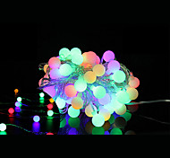 cheap -String Lights 40 LEDs Warm White Remote Control / RC Dimmable Color-Changing Linkable DC 5V DC5