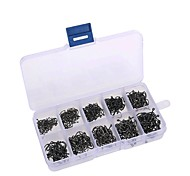 cheap -Fishing Accessories Fishing - 500 pcs - Easy to Use Carbon Steel - Sea Fishing Fly Fishing Bait Casting Ice Fishing Spinning Jigging